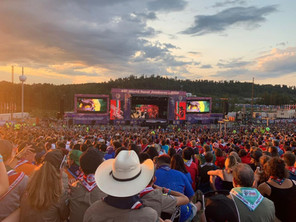 World Scout Jamboree in West Virginia, USA