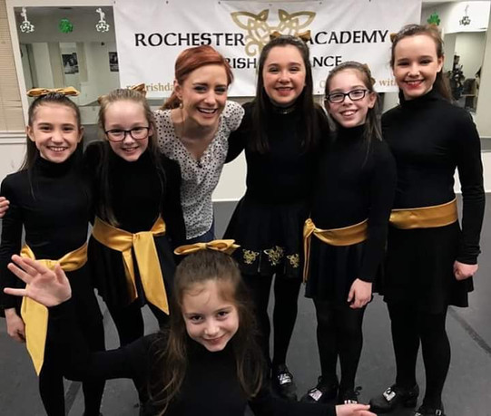 Rochester Academy Irish Dancers on the News!