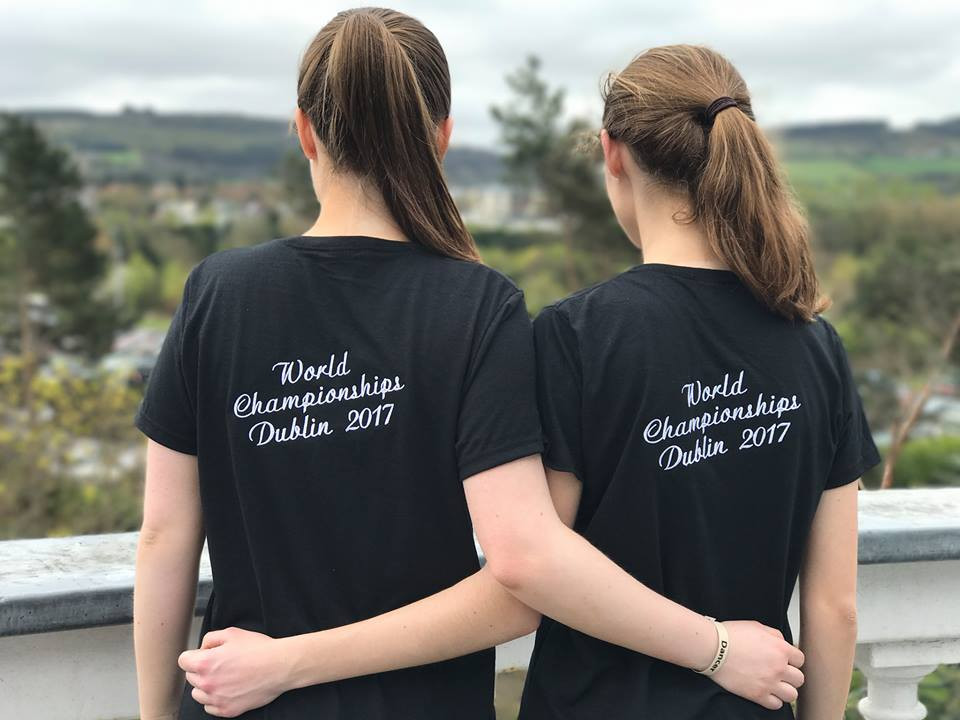 Two of our dancers at the 2017 World Championships in Dublin