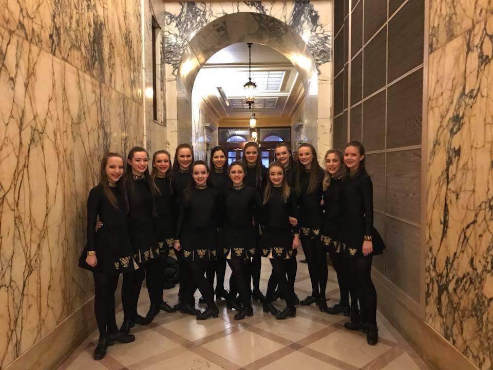Rochester Academy Irish Dancers at City Hall