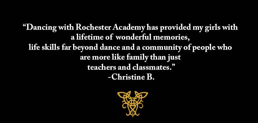 Rochester Academy of Irish Dance Testimonial