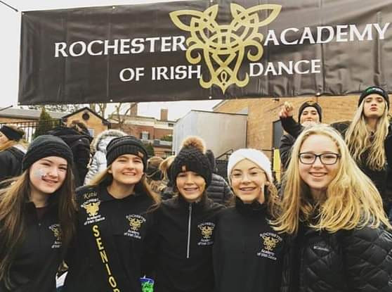 Rochester Academy Irish Dancers at the Saint Patrick's Day Parade