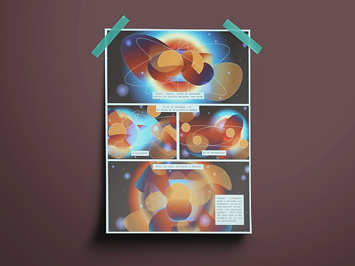 Poster digital -Vie et mort d'une étoile