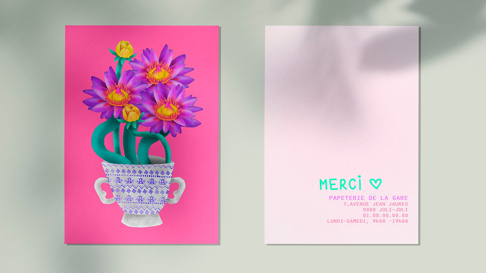 "Lotus ""ThankYou"" set"