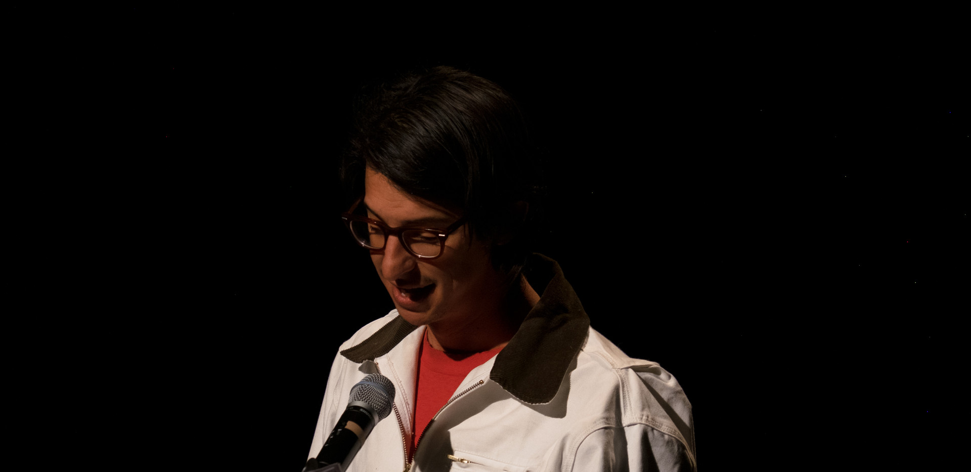 Local actor Michael Camacho.