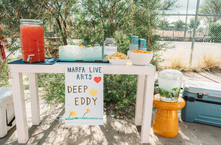 Drinks provided by Deep Eddy Vodka.