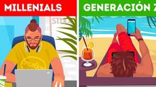 Millennials vs Centennials                   ¿Quién enseña a quién?