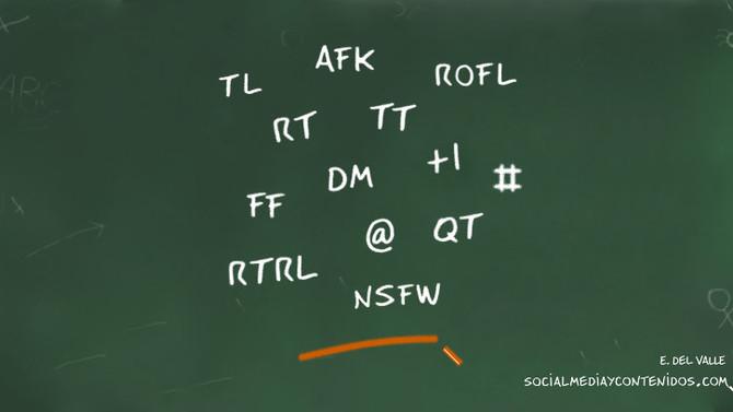 ¿Conocías este diccionario de Twitter?
