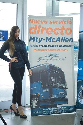 Greyhound Lines México inaugura nueva ruta directa, Monterrey-McAllen