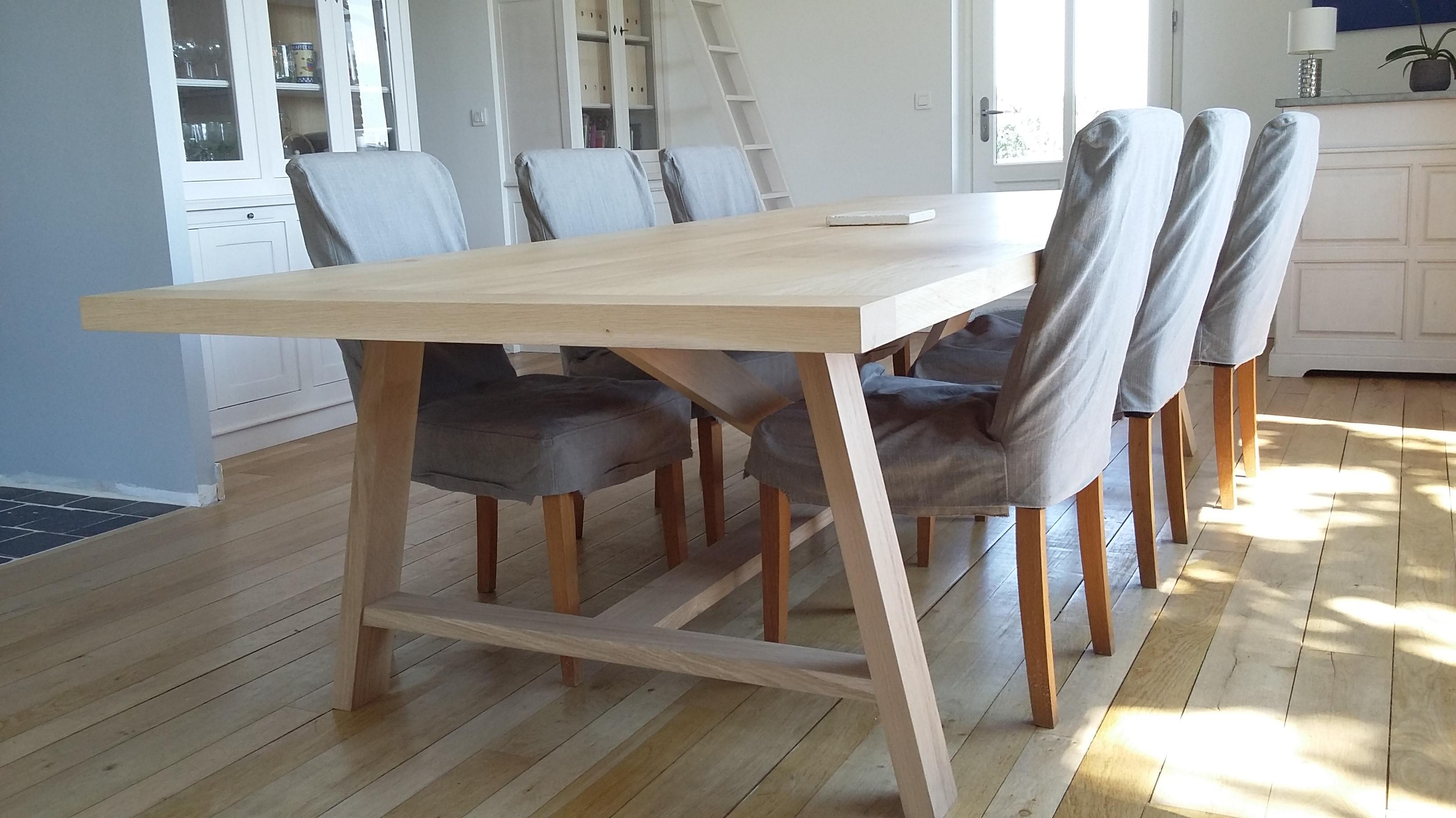 Création table de salle à manger