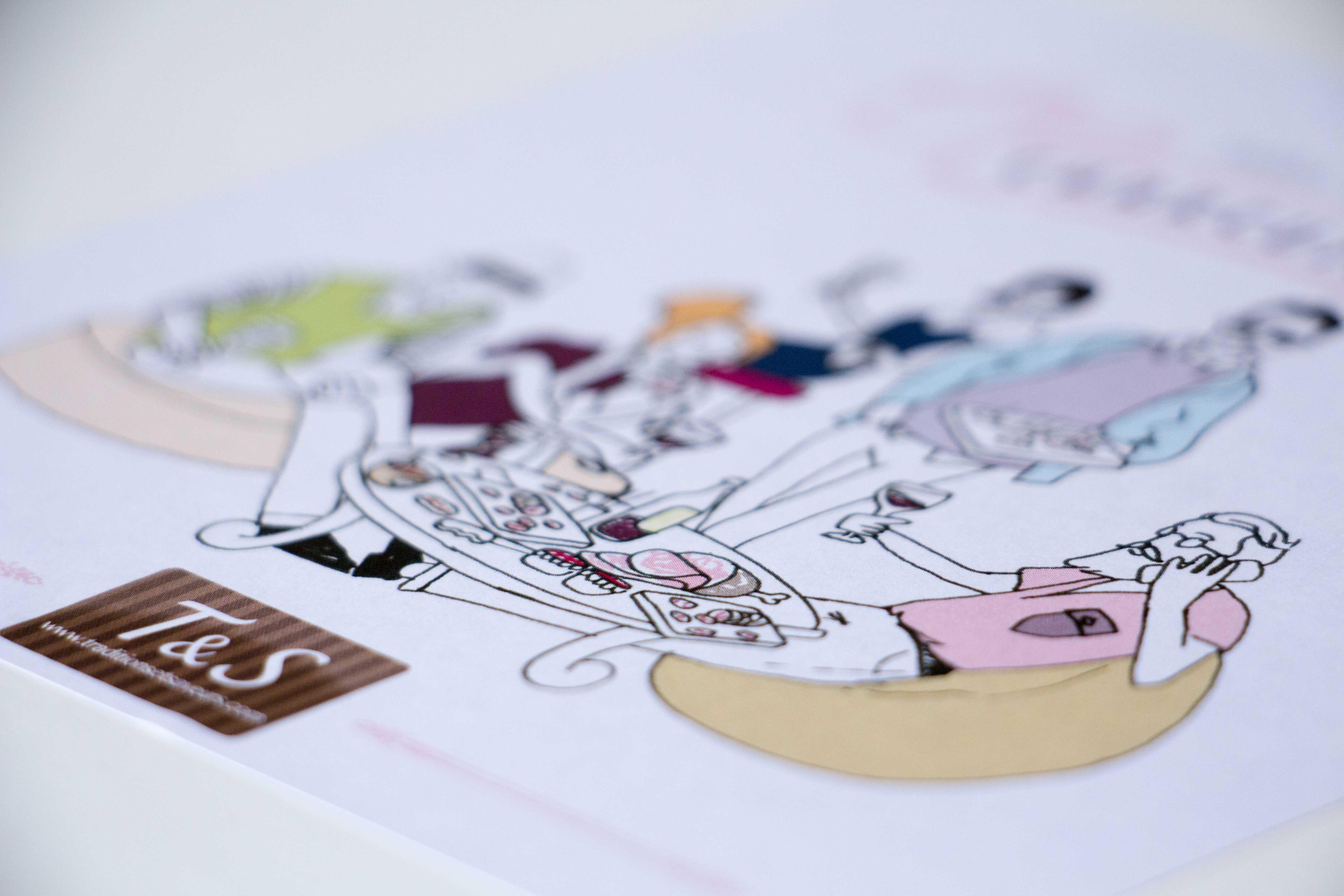 Illustration Traditions et saveurs BOX