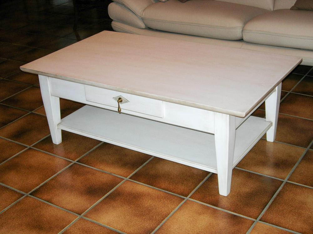 Table basse laqué