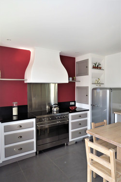Cuisine ambiance cottage