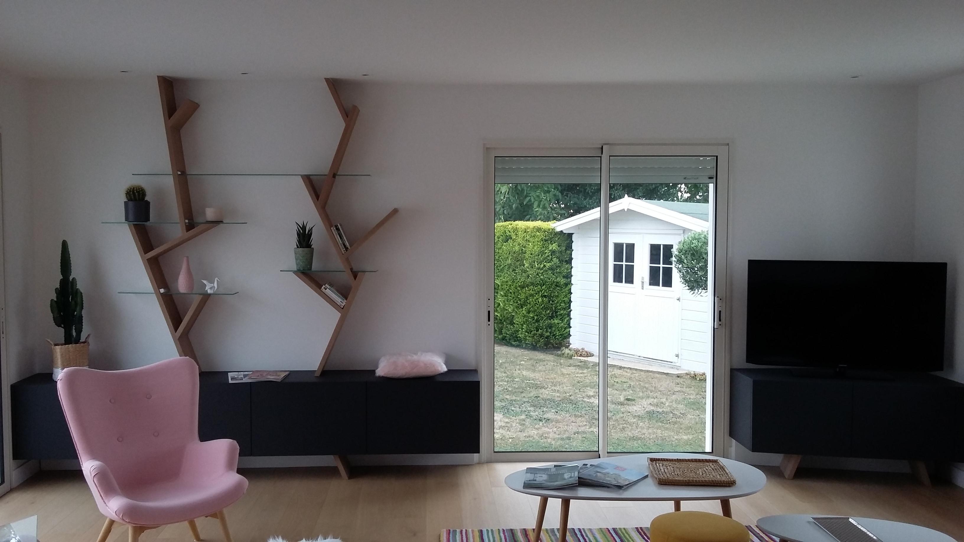 Idée de meuble décoratif sur mesure