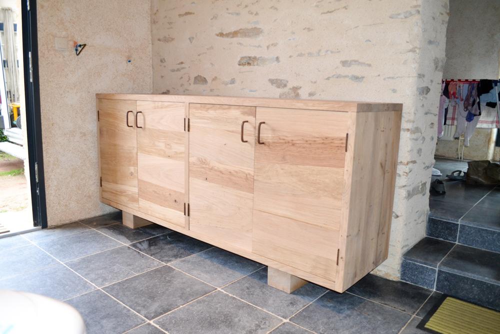 Création d'un meuble de style récupération-2