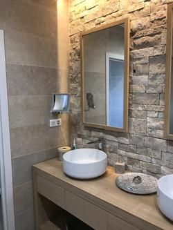 Miroir salle de bain rétro éclairé