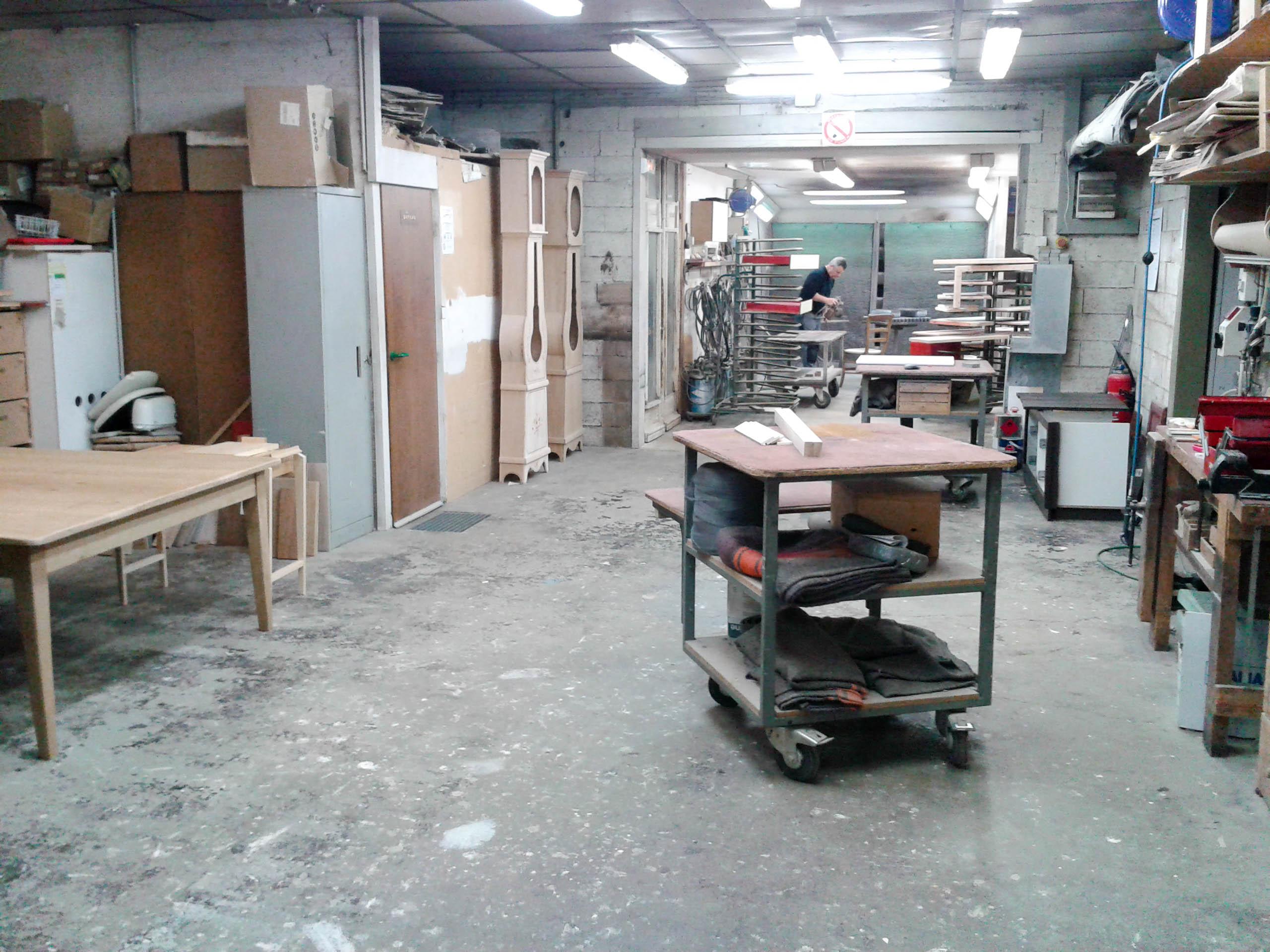 Atelier de finition