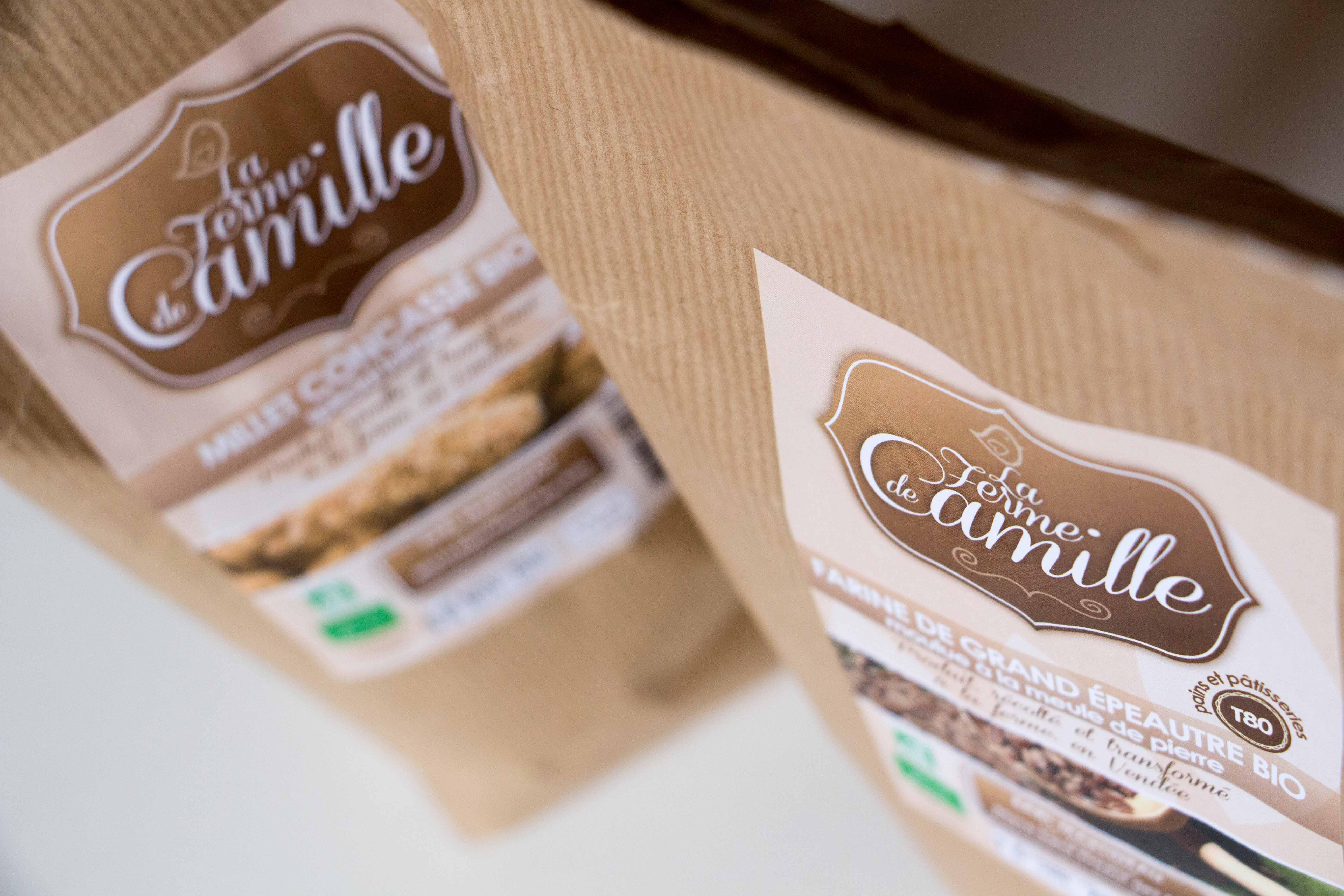 Identité visuelle et packaging