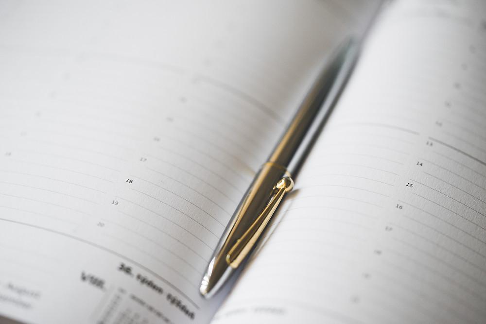 Mit dem Kalender die Arbeitszeit planen