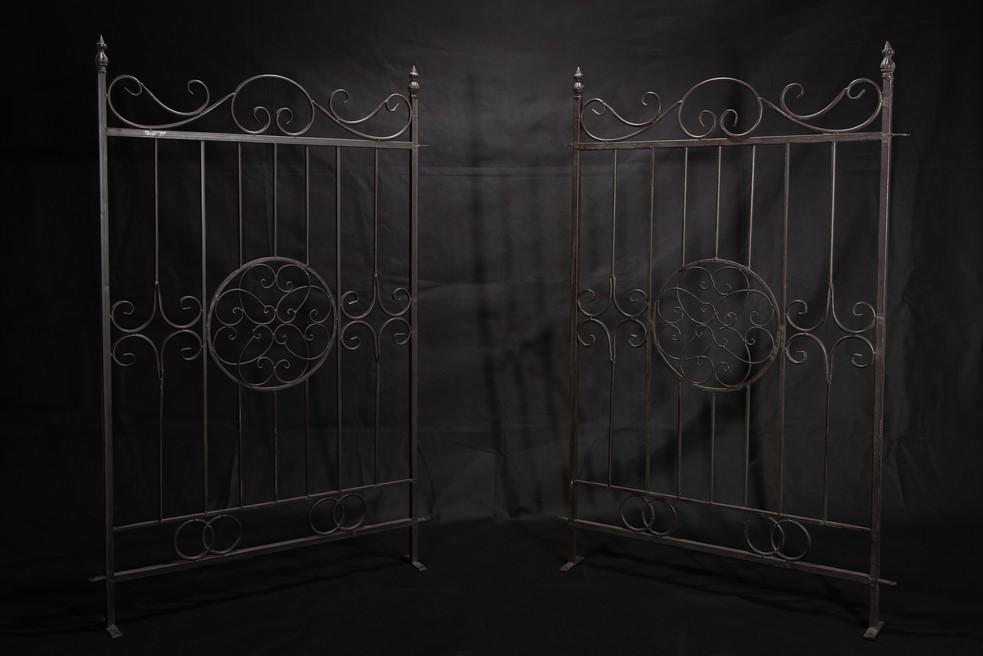 Ornate Metal Gates