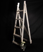 Vintage White Ladder
