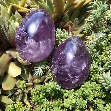 XL Amethyst Altar Eggs
