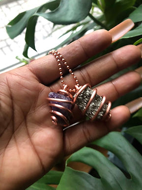 Custom Copper Necklace