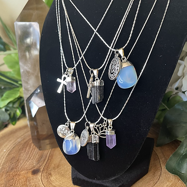Crystal Charm Necklace