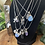 Thumbnail: Crystal Charm Necklace