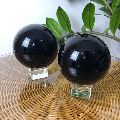 Obsidian Spheres