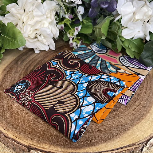 African Fabric Card Cloth IX