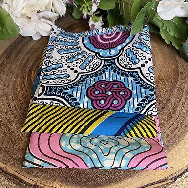 African Fabric Card Cloth II