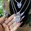 Thumbnail: Amethyst Slice Necklace