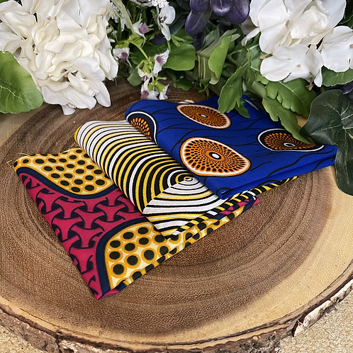 African Fabric Card Cloth VIII