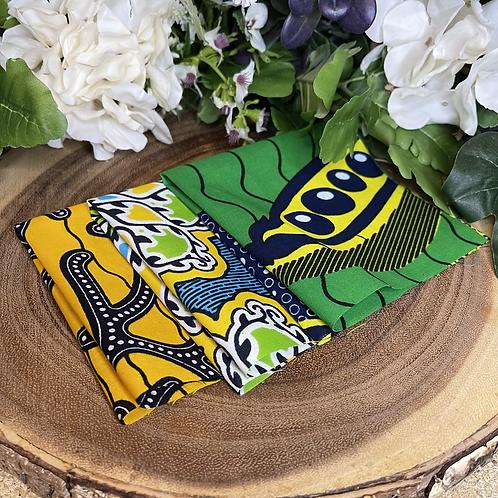 African Fabric Card Cloth IV