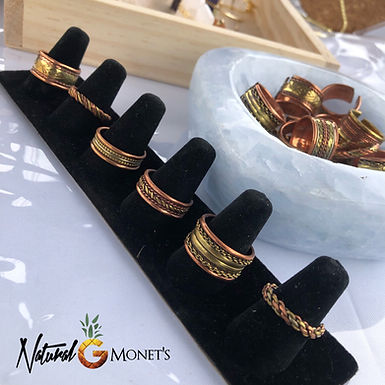 Copper & Brass Rings