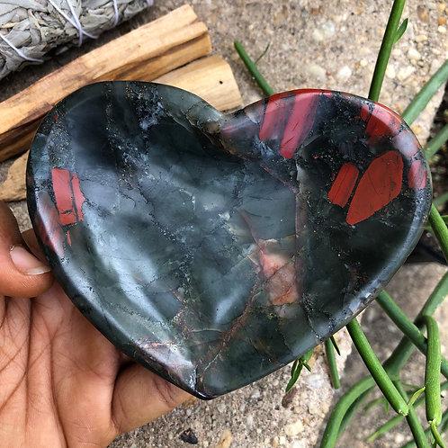 Bloodstone Heart Smudge Set