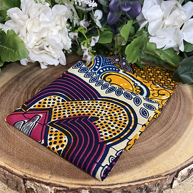 African Fabric Card Cloth VII