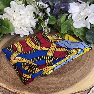 African Fabric Card Cloth III