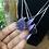 Thumbnail: Silver Druzy Amethyst Necklace
