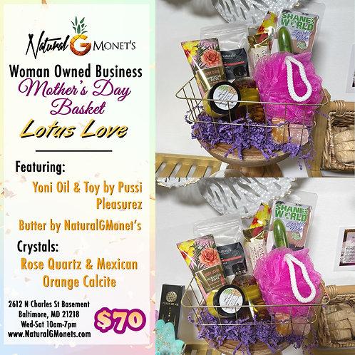 Lotus Love Basket