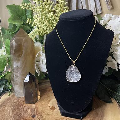 Opulent Clear Quartz Necklace