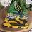 Thumbnail: African Fabric Card Cloth IV
