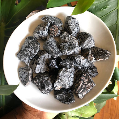 POWERFUL Snowflake Obsidian