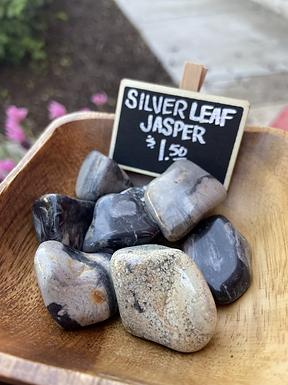 Silver Leaf Jasper
