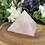 Thumbnail: Gemmy 2lb Rose Quartz Pyramid