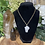 Thumbnail: Crown Clear Quartz Necklace
