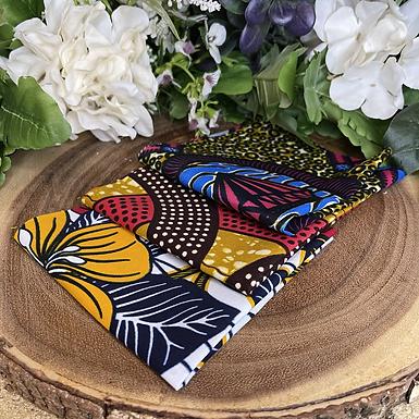 African Fabric Card Cloth XI