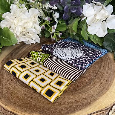 African Fabric Card Cloth XII