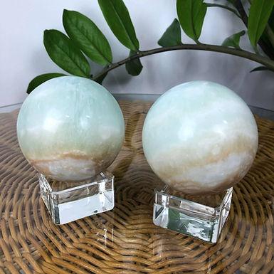 Rare Carribean Calcite Spheres